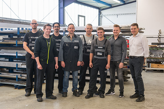 Mitarbeiter der FSM GmbH aus Kirchlengern